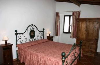 Eines der landestypischen Schlafzimmer