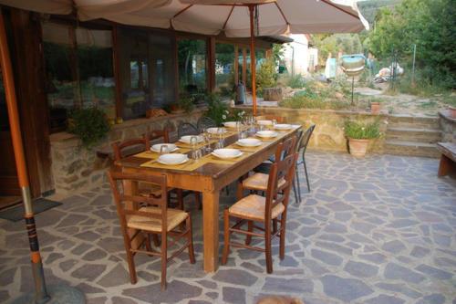 Roberta bekocht unsere Gäste mit original toskanischer Küche