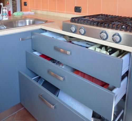 Gut ausgestattete Küchen