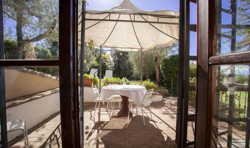 Private Terrasse und Garten direkt vor der Wohnung