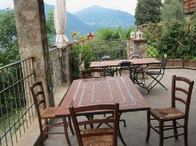 Panoramablick von der Terrasse aus