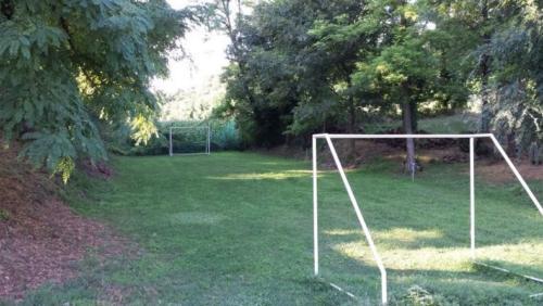 Fußballplatz im großen Garten