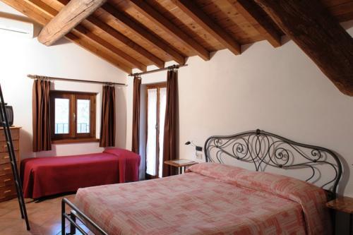 Gemütliche Zimmer mit Klimaanlage