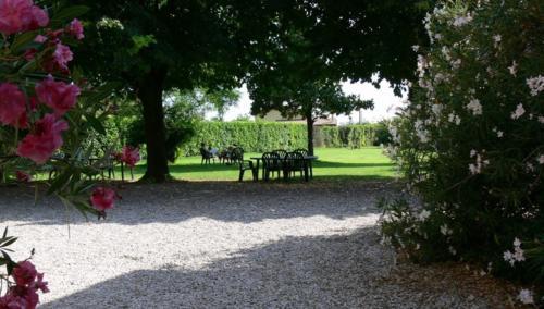 Parkähnliche Gartenanlage