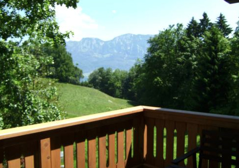 Herrlicher Blick auf die Berge