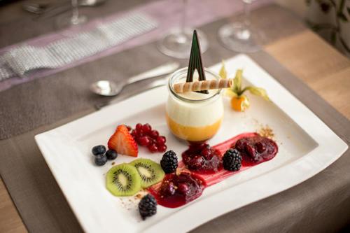 Gourmets werden im Familienhotel Flachau täglich aufs Neue überrascht