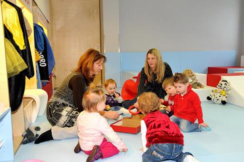 Die kleinen Gäste erfahren in unserem Familienhotel Flachau eine erstklassige Kinderbetreuung
