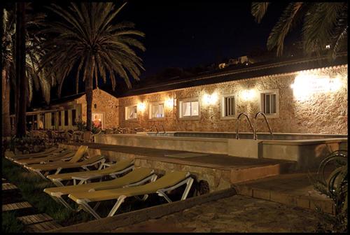 Abendstimmung an unserem Familienhotel Font de sa Cala auf Mallorca
