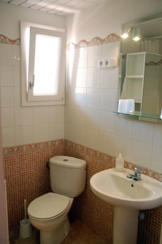 Kleine, aber feine Badezimmer in unserem Familienhotel Font de sa Cala, Mallorca