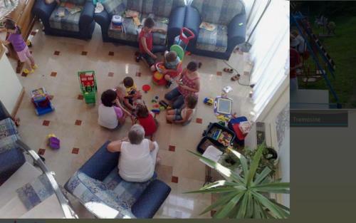 Auch Kinderspielzeug ist im Familienhotel Gardasee vorhanden