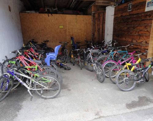 Kostenlose Fahrräder für Kinder und Erwachsene auf dem Bauernhof Zillertal